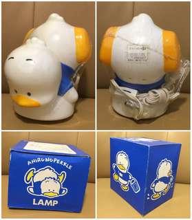 ** 分享 ** Sanrio Ahiru No Pekkle 鴨仔 1991 年 人形膠燈 (Made in Japan)