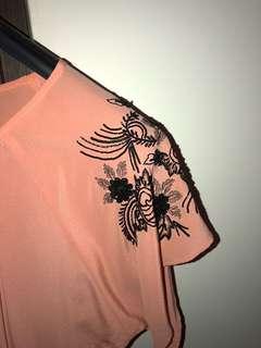 Designer silk dress XS 36 0 new