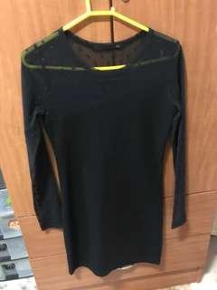 Polka Dots Bodycon Dress