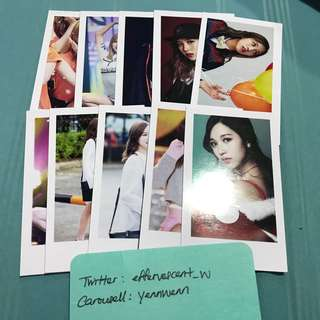 Twice Mina Momo Nayeon Unofficial Fanmade Lomo Cards Set