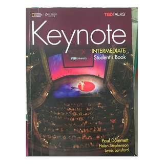 🚚 Keynote Intermediate Student's Book-ISBN: 9781305399099