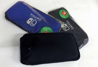 Stock clearance: Soft foam pouches for Nintendo Switch