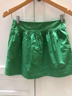 Rok hijau bysi green skirt