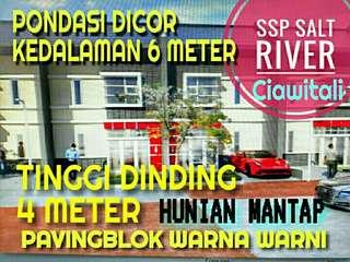 SSP SALT RIVER Ciuyah DP 0 % Tinggi Dinding 4 meter Pondasi Dicor 6 meter Dekat Pemkot Cimahi