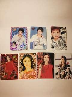 ($15/10pcs) yes card (閃卡,簽名卡,貼紙卡...)