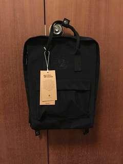 BNWT Fjallraven Re-Kanken Classic 16L Rekanken Backpack in Black