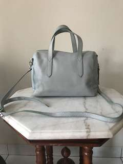 Fossil Light Blue Bag Authentic