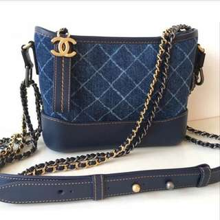 Authentic Chanel Small Gabriel Bag