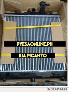 Kia picanto gen1 radiator assembly