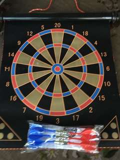 Magnetic Dart Board 2 Sided