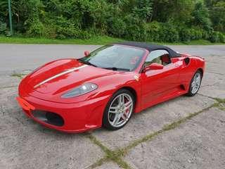 Ferrari F430 🇸🇬 Spider Red - 478 Bhp - RM 380k - NETT