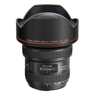 Canon EF 11-24mm f/4L USM Zoom Lens (Mint)