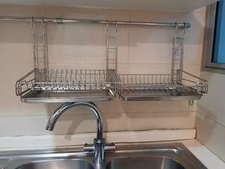Song Cho Stainless Steel Dish Rack