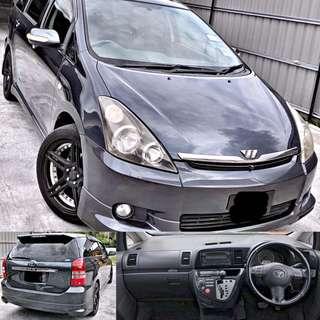 SAMBUNG BAYAR / CONTINUE LOAN  TOYOTA WISH 1.8 AUTO