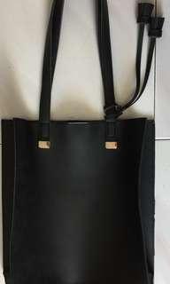 BN MINISO Classic Black Shoulder Bag