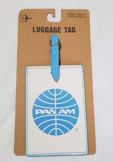PanAm luggage tag
