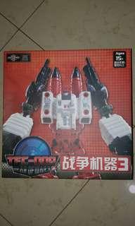 Transformers metroplex add on kit