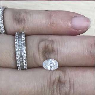 Certified 0.96ct Diamond for Ring