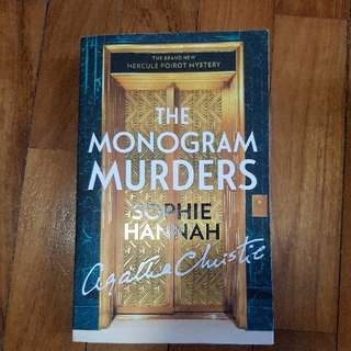 The Monogram Murders by Sophia Hannah for Agatha Christie