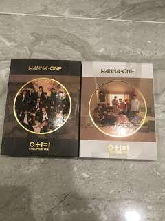 Wanna One (0+1=1) I Promise You Albums