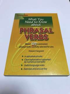 What You Need to Know About Phrasal Verbs