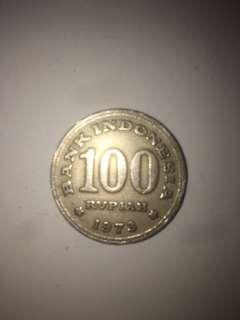 Uang 100 thn 1973