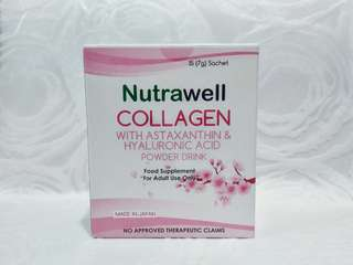 Nutrawell Collagen (15 sachets) SEALED
