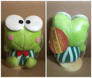 ** 分享 ** Sanrio Keroppi 青蛙仔 1997 年 人形毛公仔音樂座
