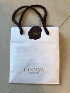 GODIVA紙袋