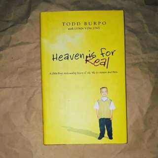 Heaven is for Real (hardbound)
