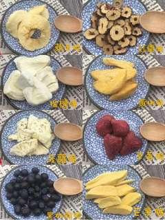 純天然水果脆