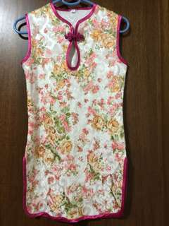 toddler cheong sam cny dress for 2 years old