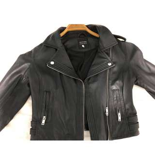 Real Leather Jacket Size 8-10 S/M