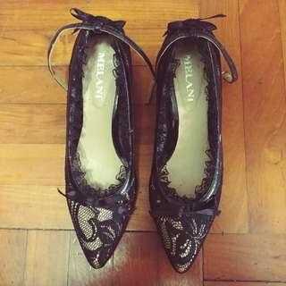 Milani Lace 高貴大方 高跟鞋