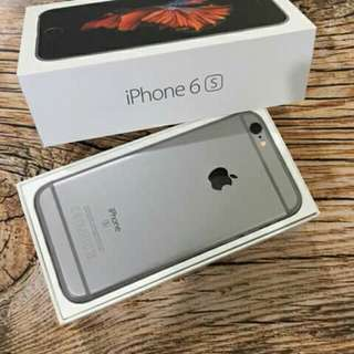 Iphone 6s.16gb warna grey original eks LL/A
