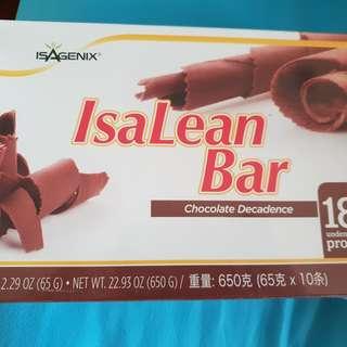 Isagenix Lean bar 2 boxes