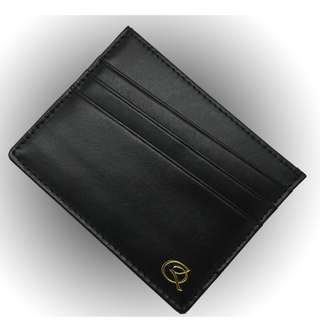 Quinn Handcrafted RFID Blocking Leather Card Holder