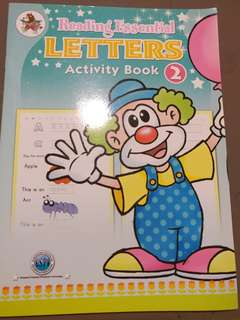 Letters Activity Book