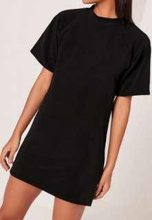 BN H&M Black tshirt tunic dress