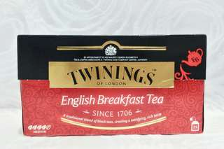 REPRICED Twinings English Breakfast Tea (25 bags)