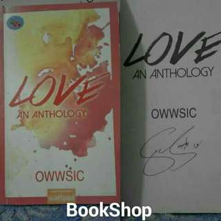 Love An Anthology with Sign