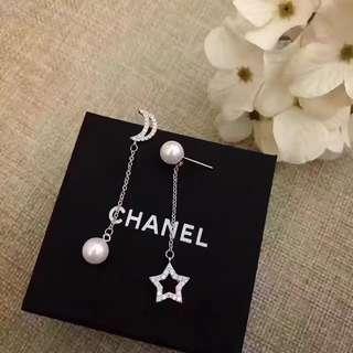 [Promotion] Buy 2 at $60. Moon star dangling earrings ear studs