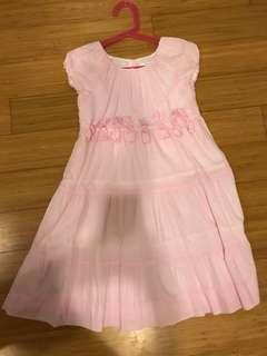 Baby Pink Ribbon Dress