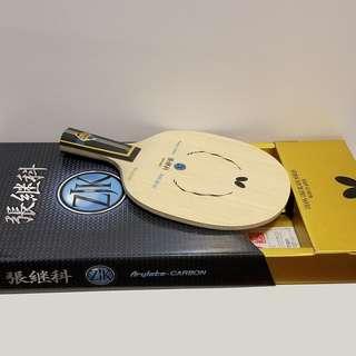 Butterfly ZJK 張繼科 Arylate-Carbon 乒乓球板 直板 table tennis racket stiga donic