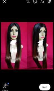 Wig Lace Front 100% Close to Human Hair