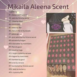 Mikaila Aleena Scent ( 30 ml )                         Customer review on photo no 3 ,4 & 5 !!!                           See photo no 6 for  product availability!!!