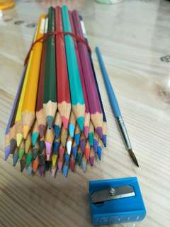 Faber castell watercolor pencils 48(without Box)