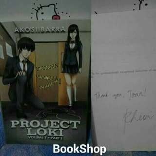 Project Loki Vol. 1 Part 1 With Dedication & Sign