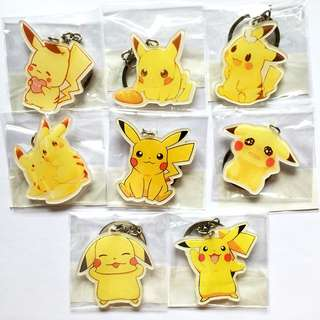 Pokemon Collectible Keychain - Anime