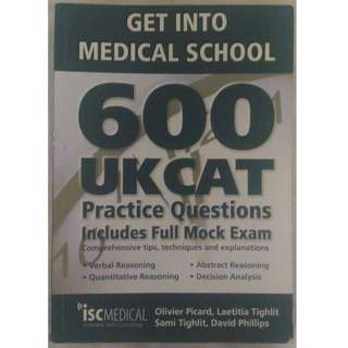 600 UKCAT Practice Questions ISC Medical